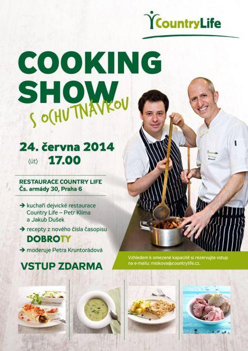 Letní cooking show 2014