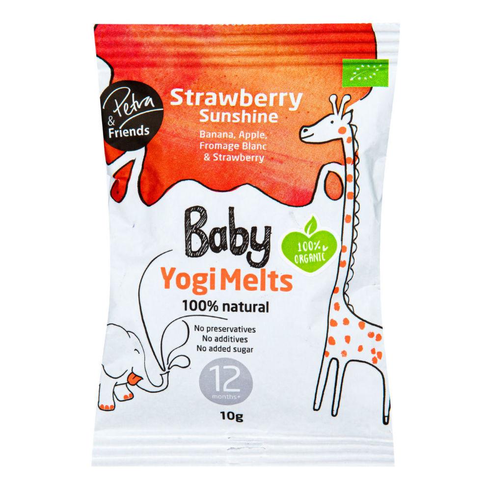Baby Yogi Melts jahoda 10 g BIO NORDIC FOODIE