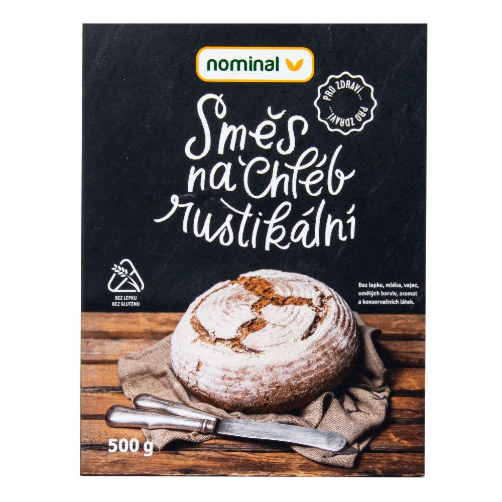 Směs na chléb rustikální bezlepkový 500 g NOMINAL