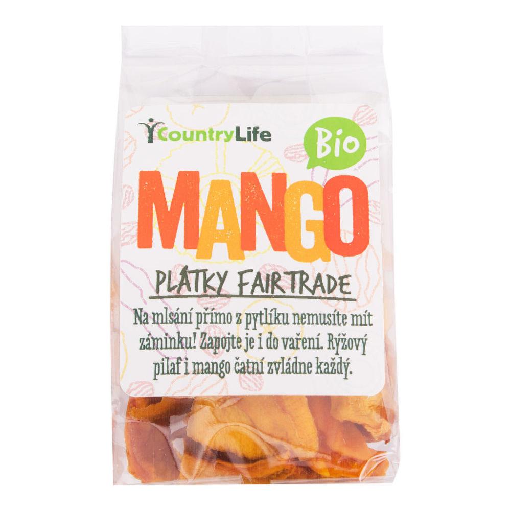 Mango plátky sušené 80 g BIO COUNTRY LIFE