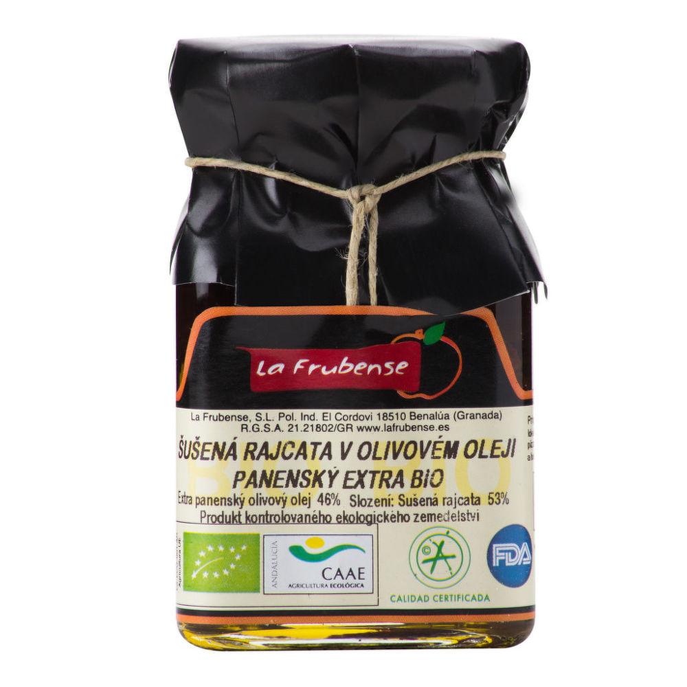 Rajčata sušená v olivovém oleji 150 g BIO LA FRUBENSE