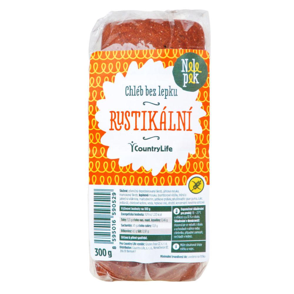 Chléb rustikální bez lepku 300g NELEPEK