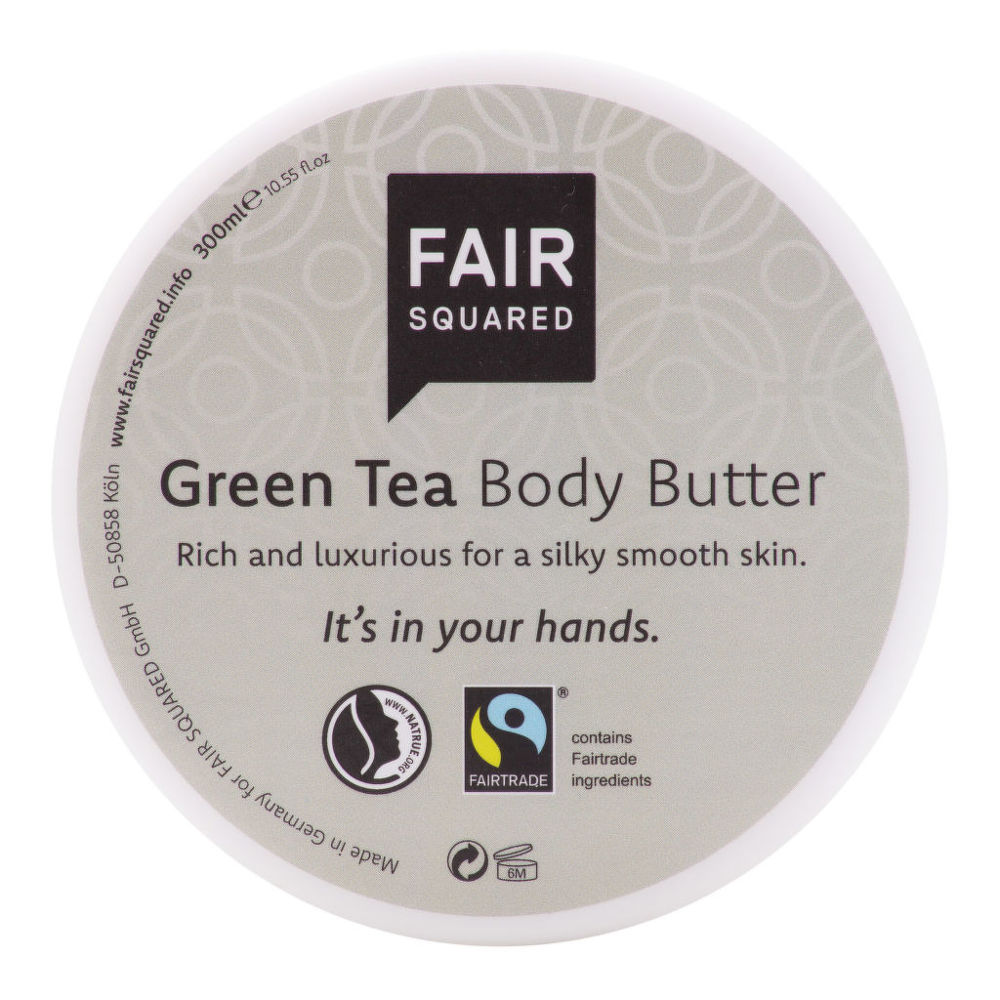 Máslo tělové se zeleným čajem 300 ml   FAIR SQUARED
