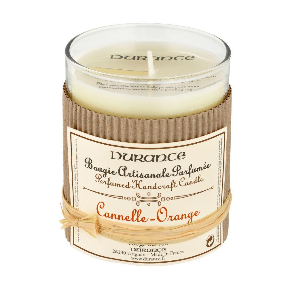 Svíčka vonná skořice pomeranč 180 g   DURANCE