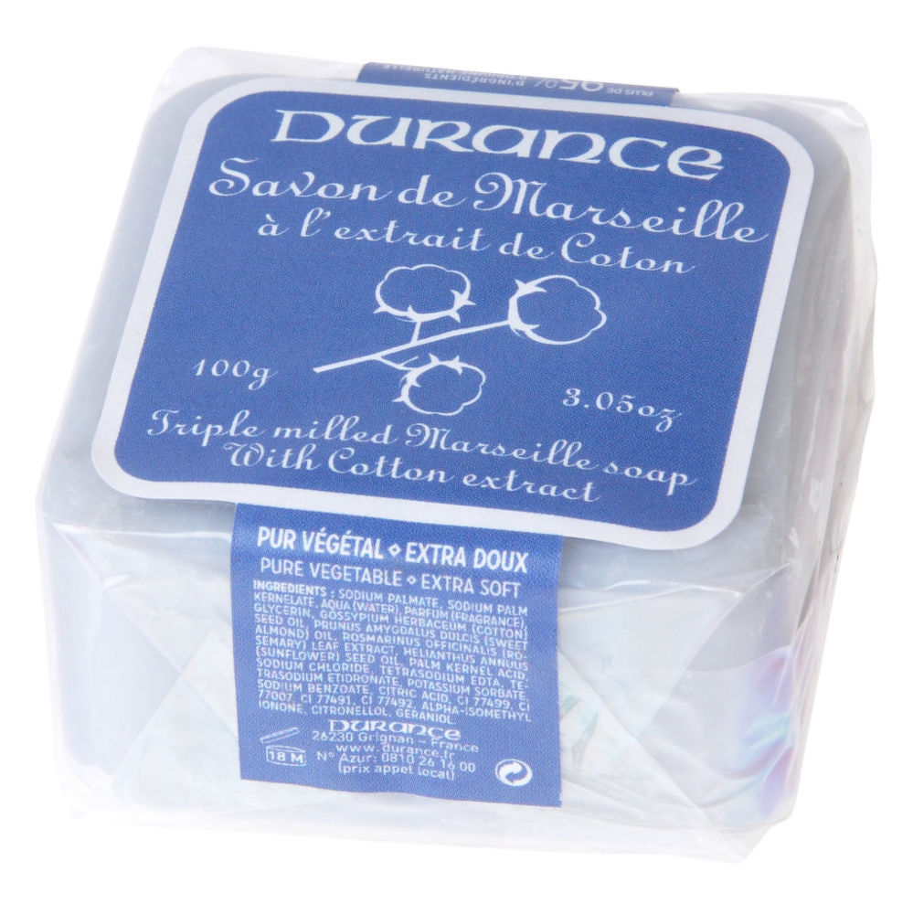 Mýdlo Marseille květ bavlníku 100 g DURANCE