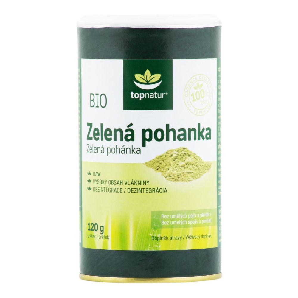 Pohanka zelená 120 g BIO TOPNATUR