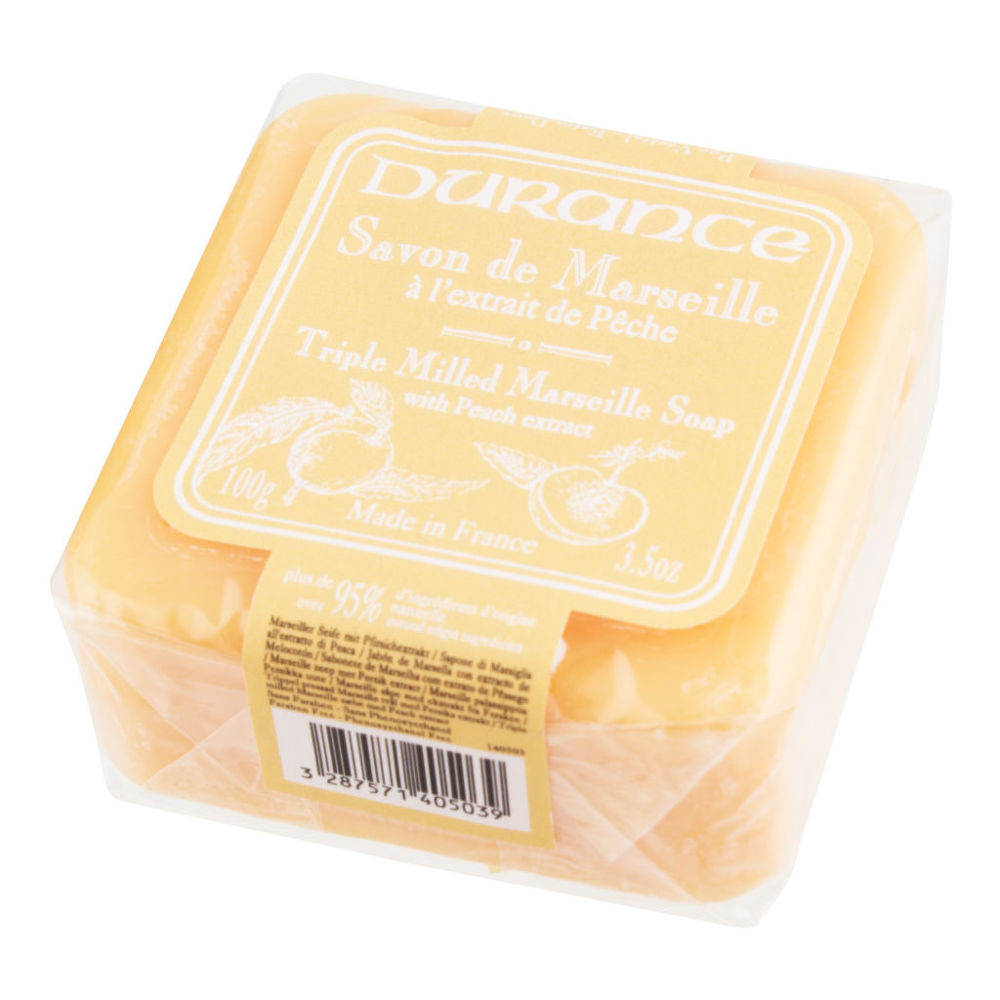 Mýdlo Marseille s broskvovým extraktem 100g DURANCE