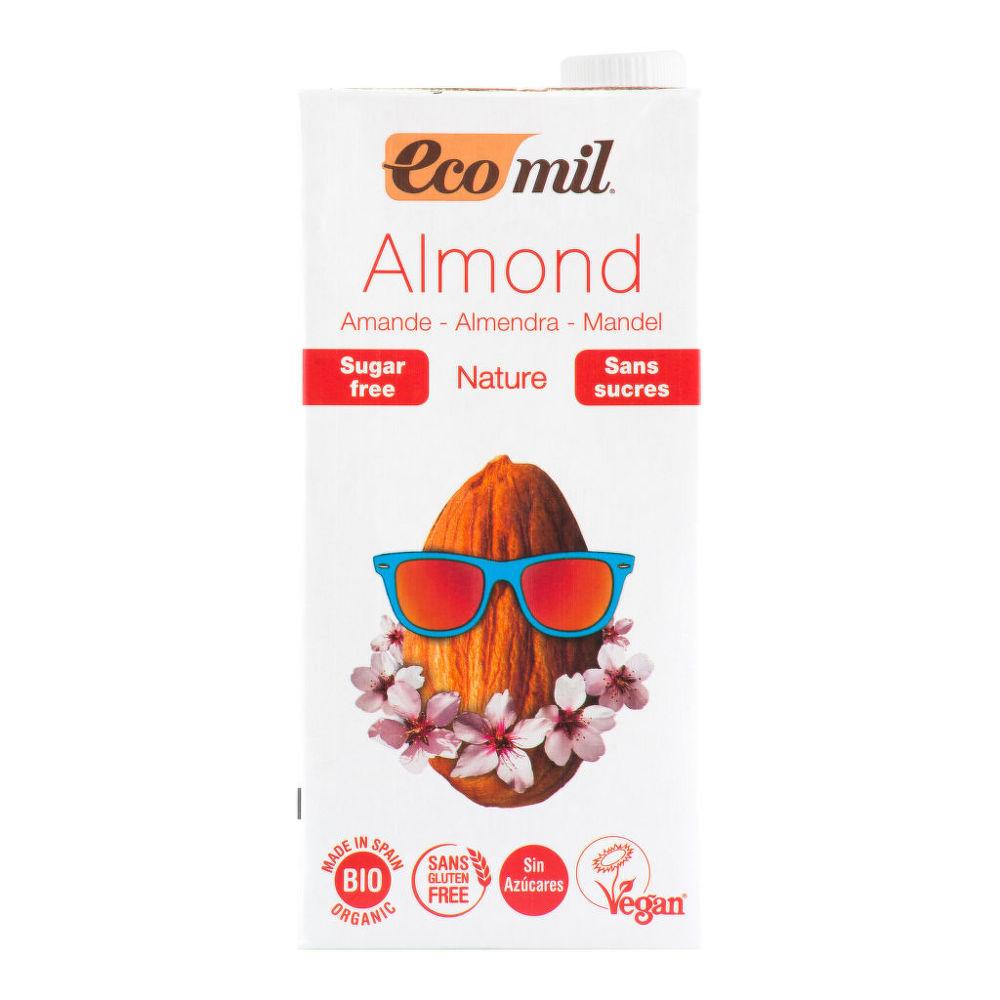 Nápoj ze sladkých mandlí nature 1l BIO   ECOMIL