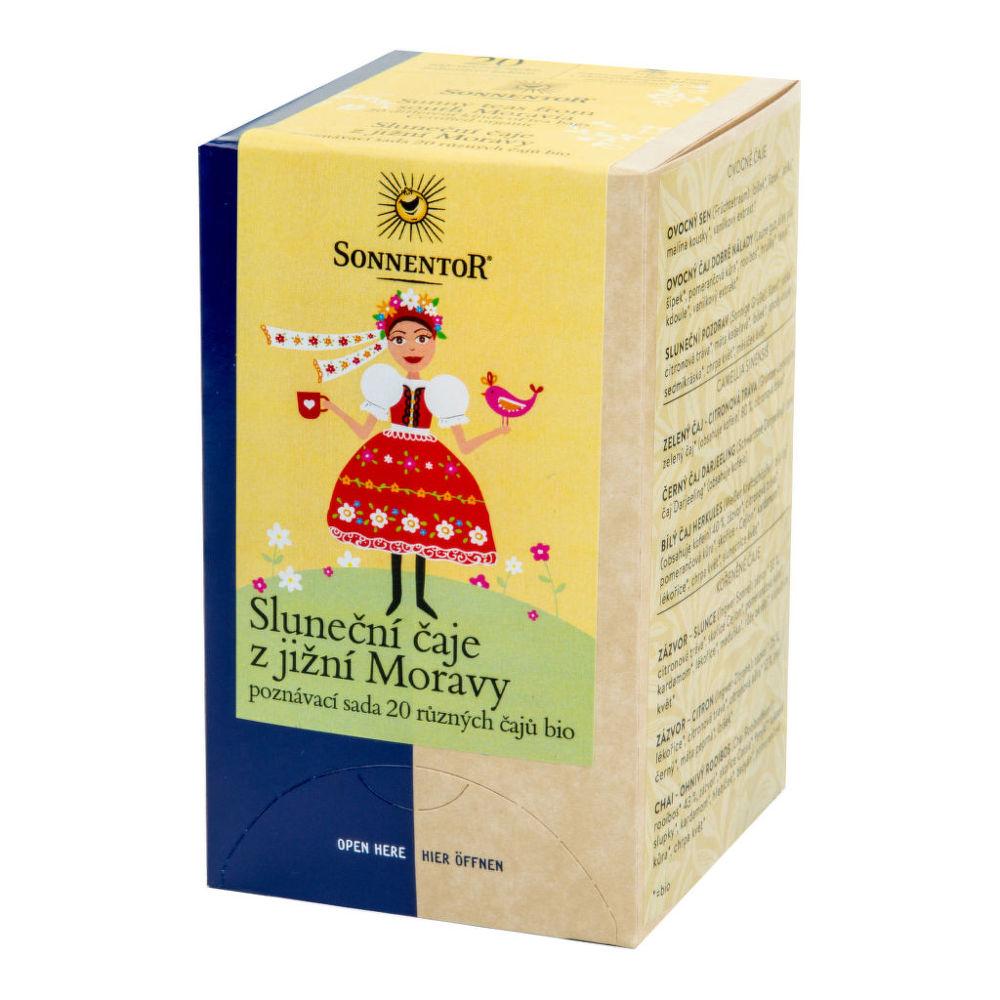 Čaj Sluneční čaje z jižní Moravy 31,5 g BIO SONNENTOR