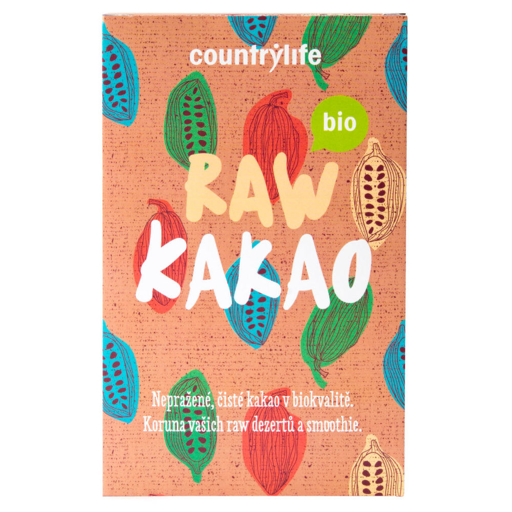 Kakao raw 150 g BIO COUNTRY LIFE