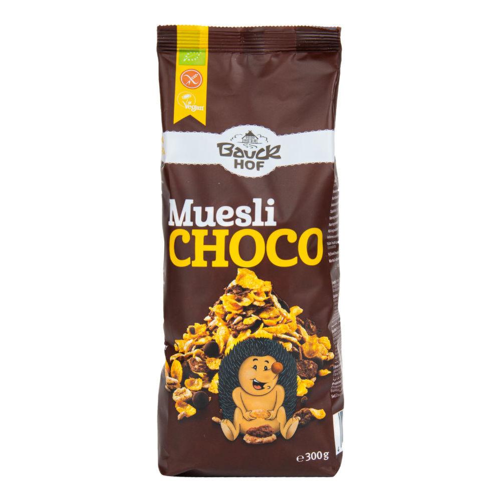 Müsli čokoládové bezlepkové 300 g BIO BAUCK