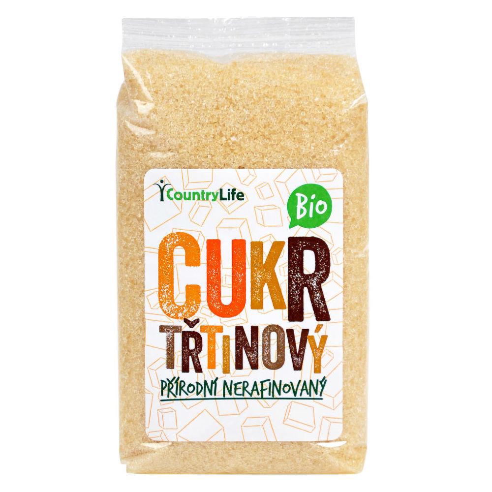 Cukr třtinový 500 g BIO COUNTRY LIFE