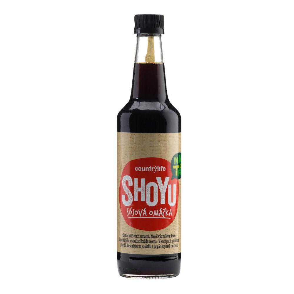 Shoyu sójová omáčka 500 ml COUNTRY LIFE