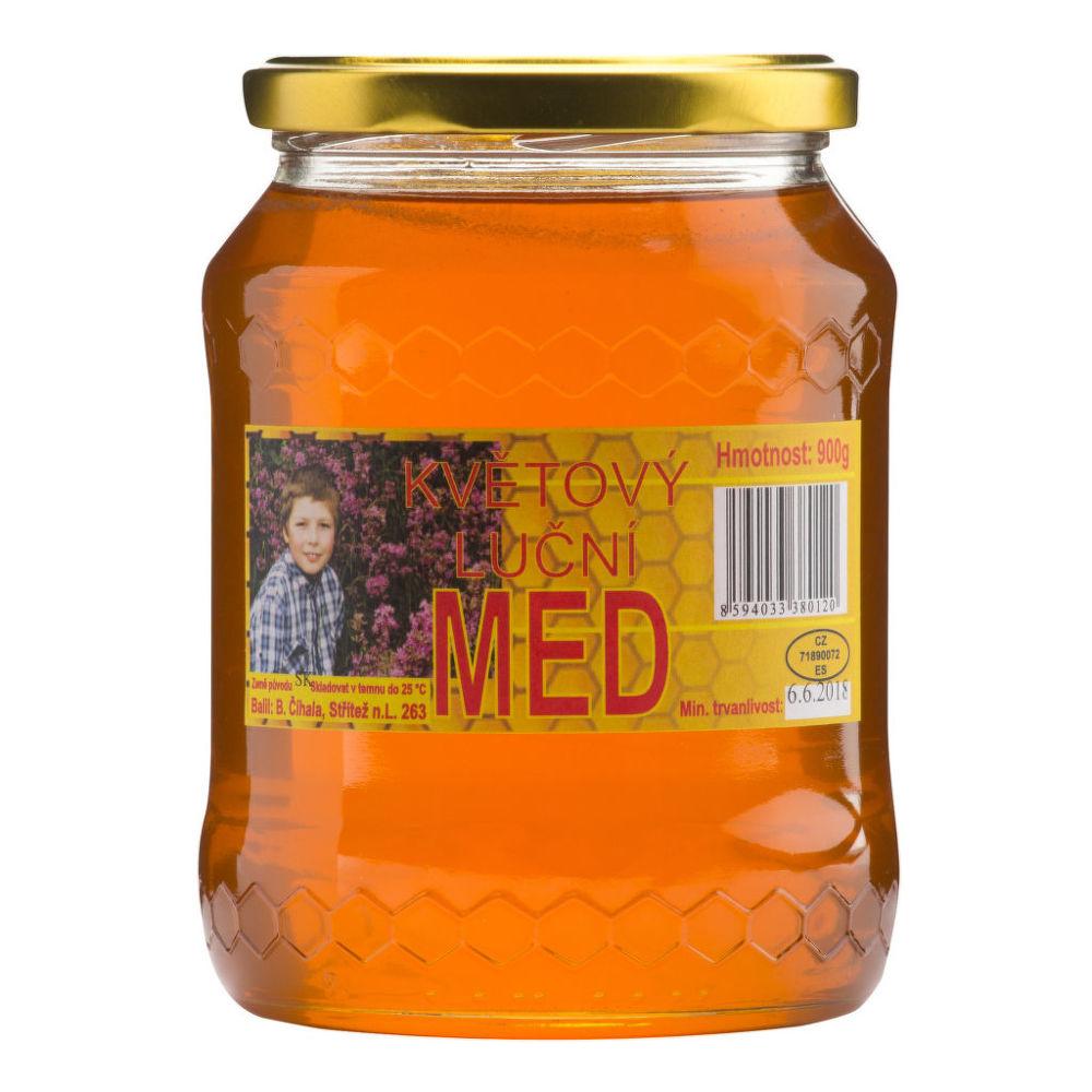 Med květový 900 g ČÍHALA