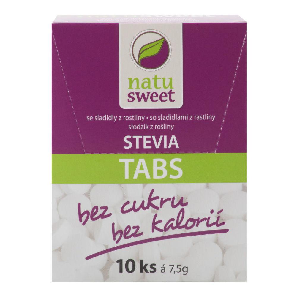 Sladidlo ze stévie 125 tablet 7,5 g NATUSWEET