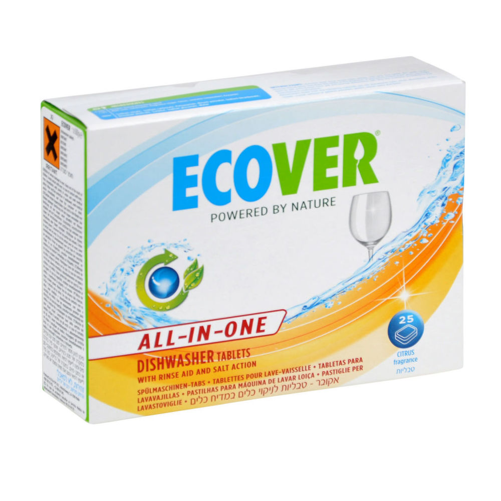 ECOVER tablety do myčky 25 ks All in One 500 g