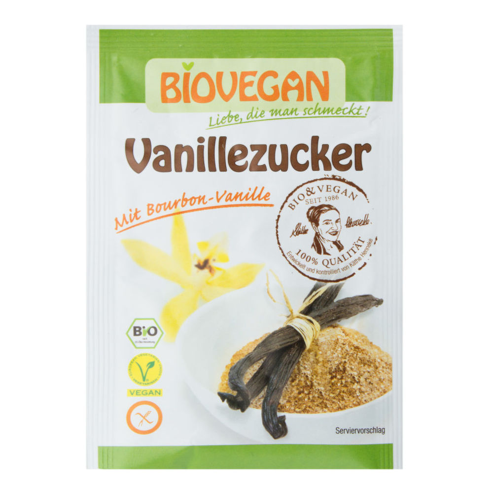 Cukr vanilkový 5 x 8g BIO   BIOVEGAN