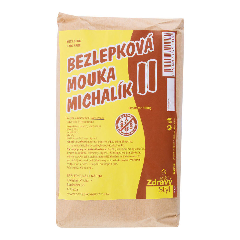 Mouka bezlepková 1 kg MICHALÍK II