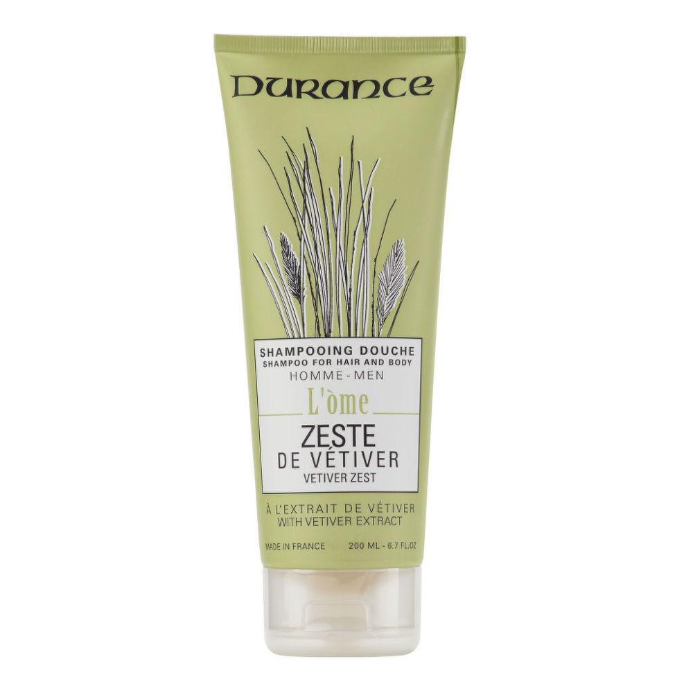 Šampon na vlasy a tělo pánský Zeste de Vetiver 200 ml   DURANCE