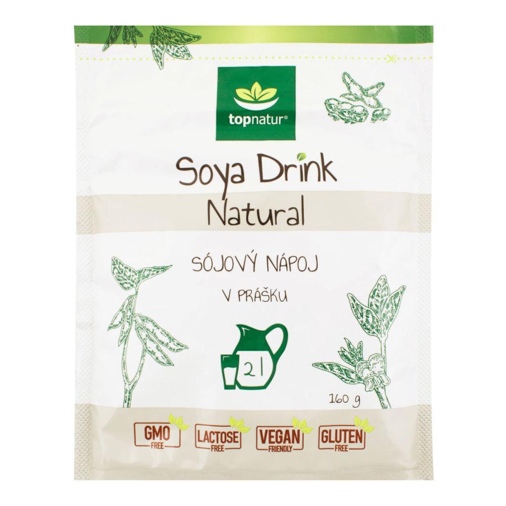 Nápoj Soya Drink Natural instantní 160 g TOPNATUR