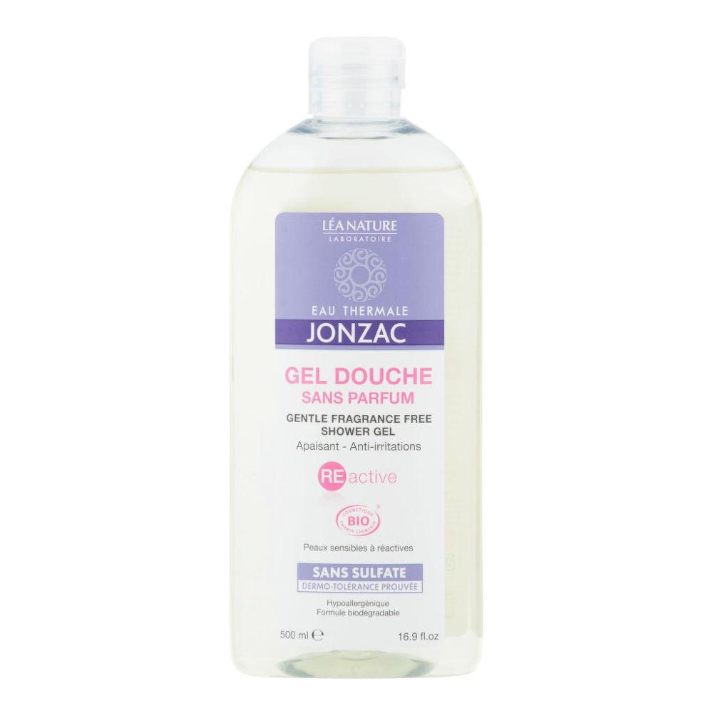 Gel sprchový neparfemovaný pro citlivou pleť REACTIVE 500 ml BIO   JONZAC