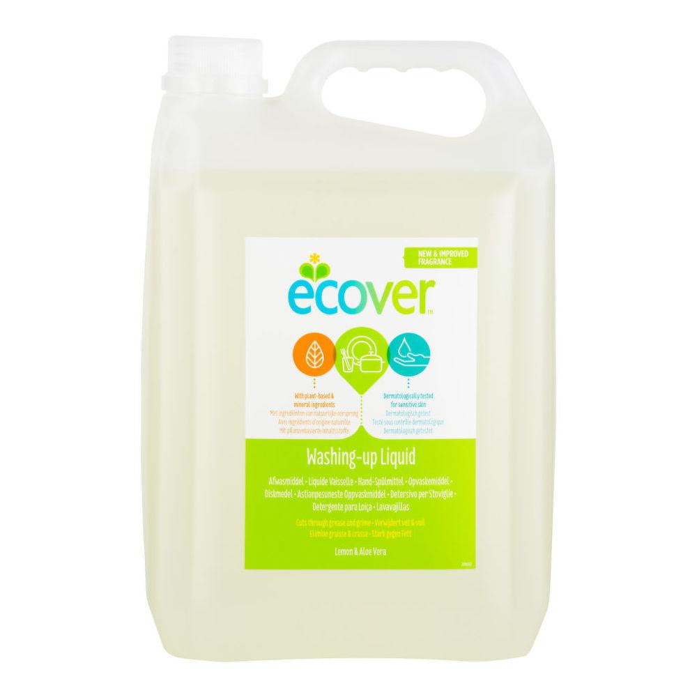 ECOVER přípravek na mytí nádobí s aloe a citronem 5 l