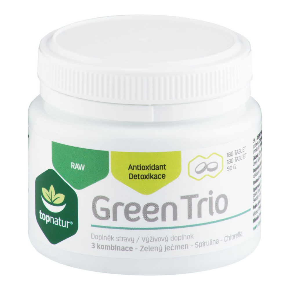Green Trio 180 tablet 90g   TOPNATUR