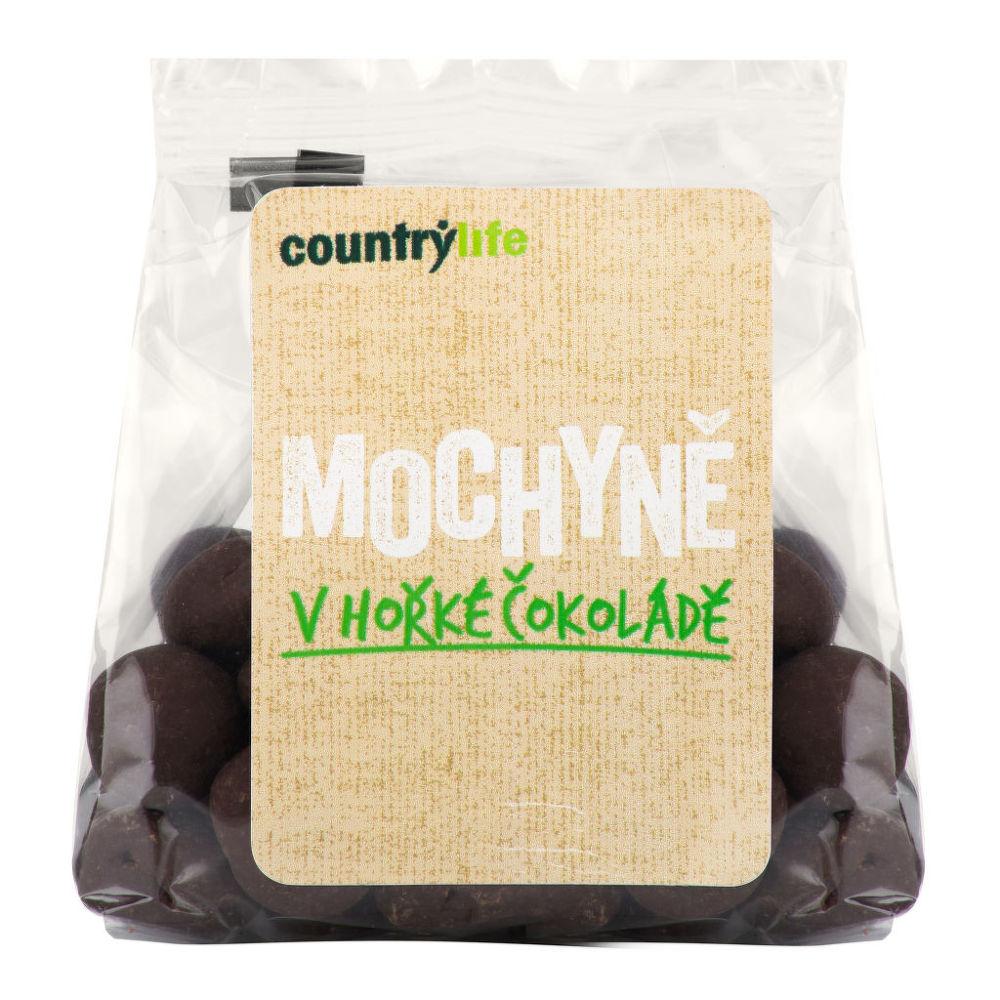 Mochyně v hořké čokoládě 100 g   COUNTRY LIFE