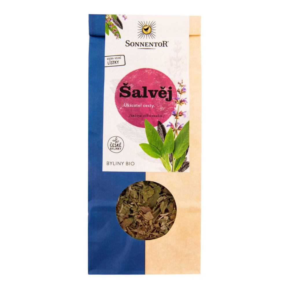 Čaj Šalvěj sypaný 50 g BIO SONNENTOR