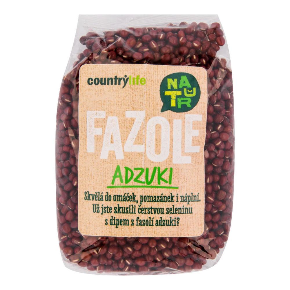 Fazole adzuki 500 g COUNTRY LIFE