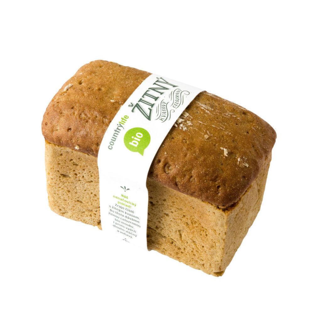 Kvasový chléb žitný celozrnný 500 g BIO COUNTRY LIFE