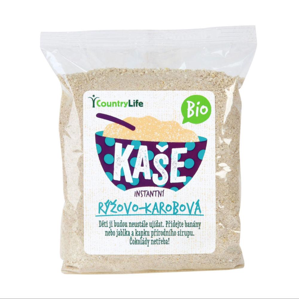 Kaše rýžovo-kukuřičná s karobem 200 g BIO COUNTRY LIFE