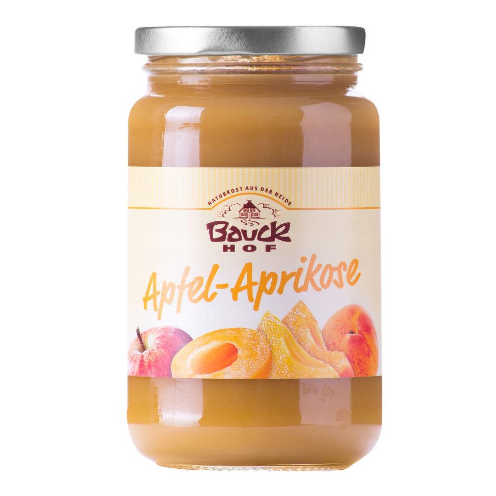 Pyré jablečné s meruňkou 360g BIO   BAUCK