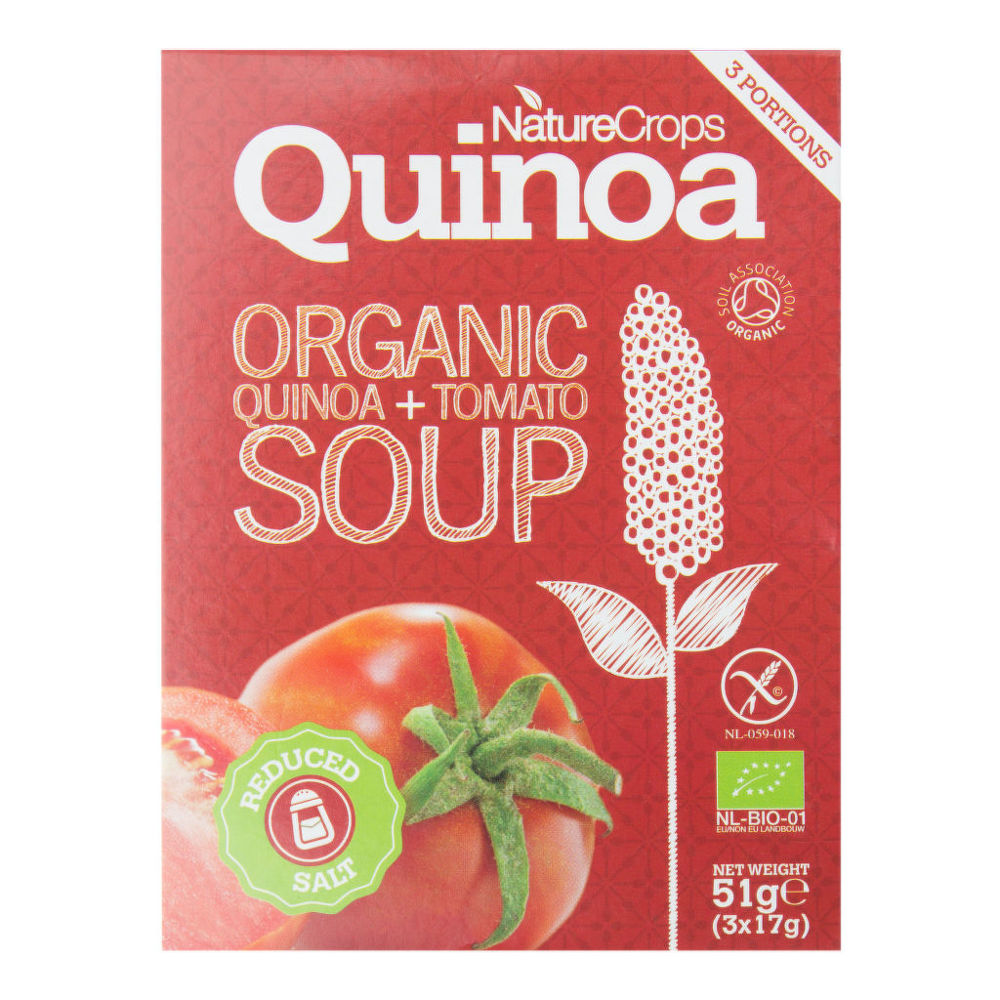 Polévka rajská s quinoou bezlepková 39g BIO   NATURECROPS