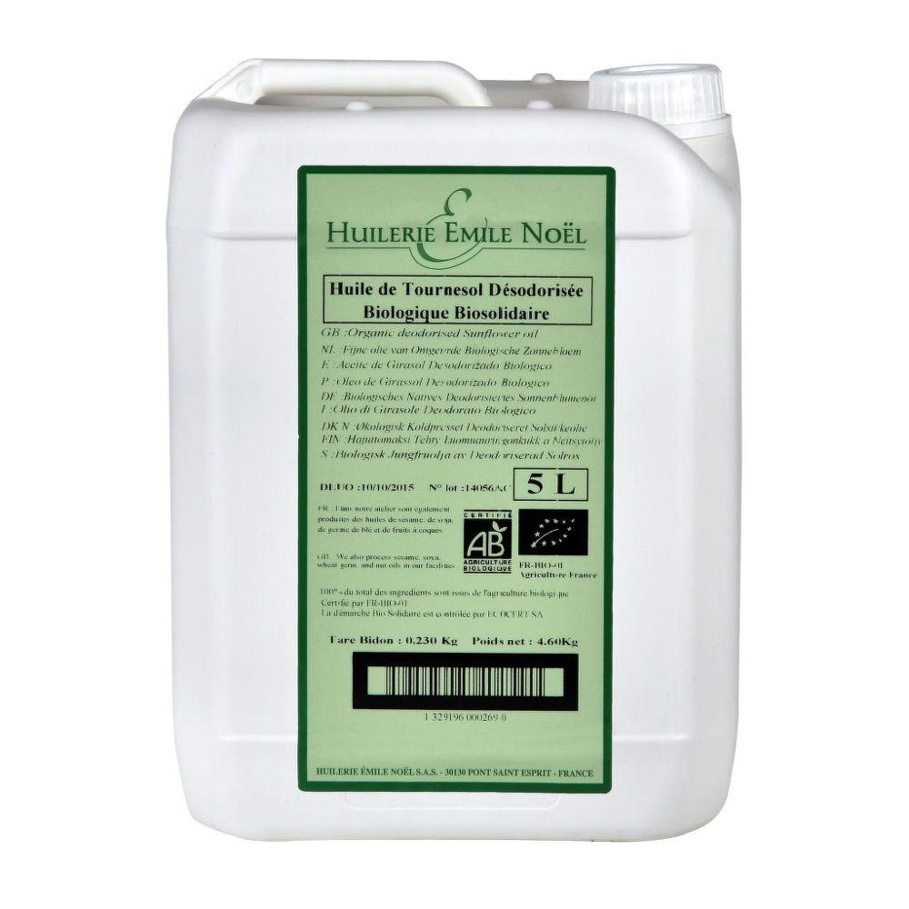 Olej slunečnicový dezodorizovaný na smažení a pečení 5 l BIO COUNTRY LIFE