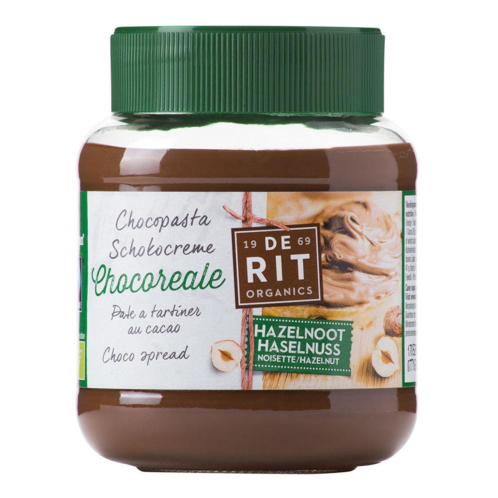 Pomazánka lískovo-kakaová 350g BIO   CHOCOREALE