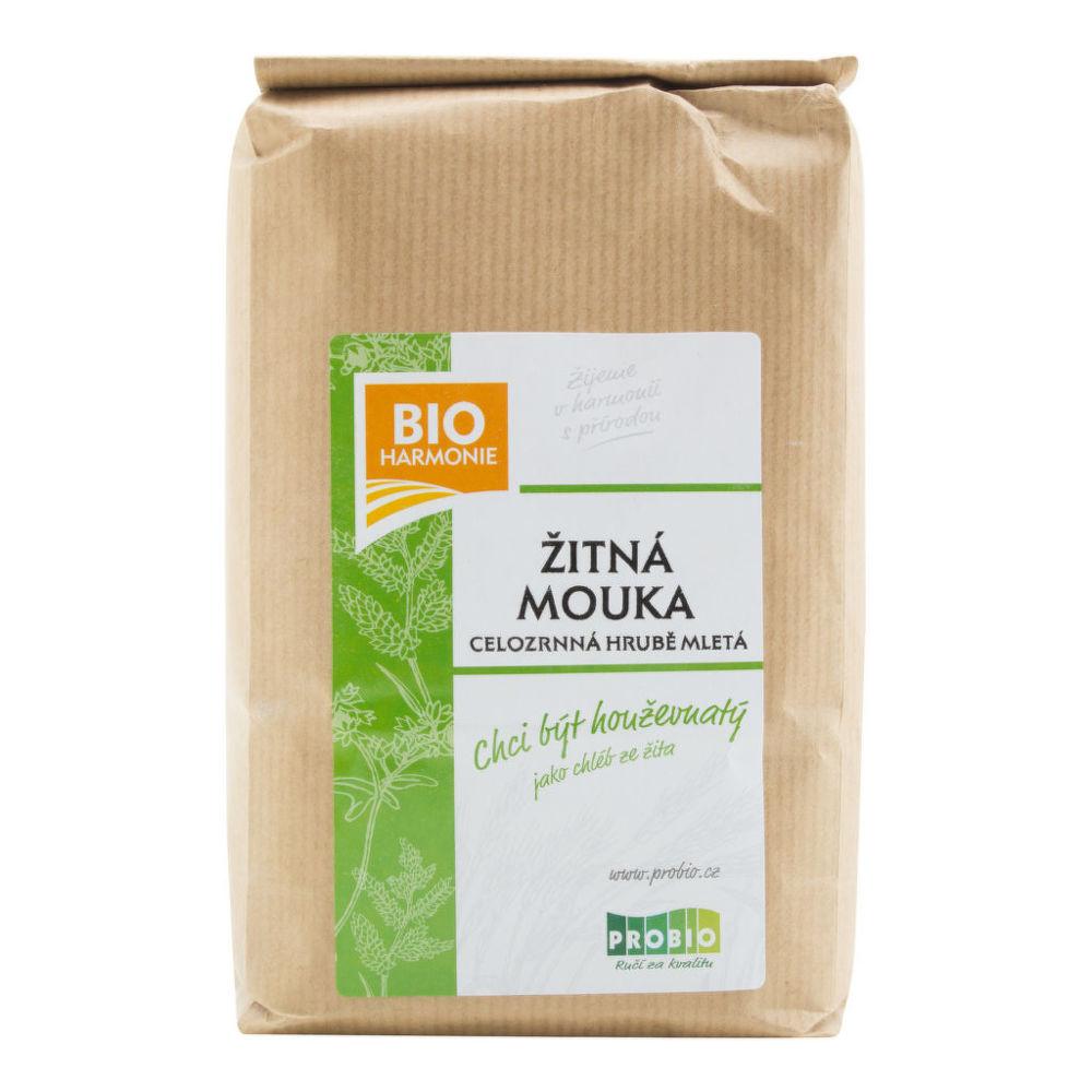 Mouka žitná celozrnná hrubě mletá 1 kg BIO BIOHARMONIE
