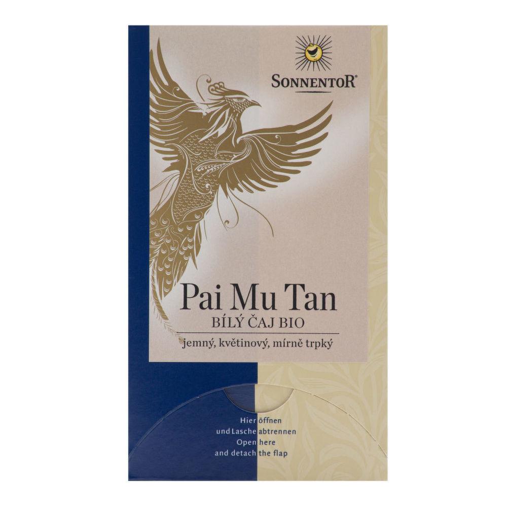 Čaj Bílý Pai Mu Tan 18g BIO   SONNENTOR