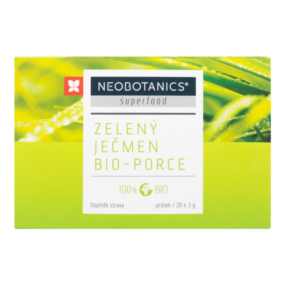 Ječmen zelený porcovaný 20x3g BIO   NEOBOTANICS®