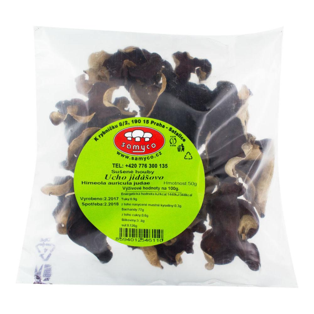 Houby sušené jidášovo ucho 50 g SAMYCO