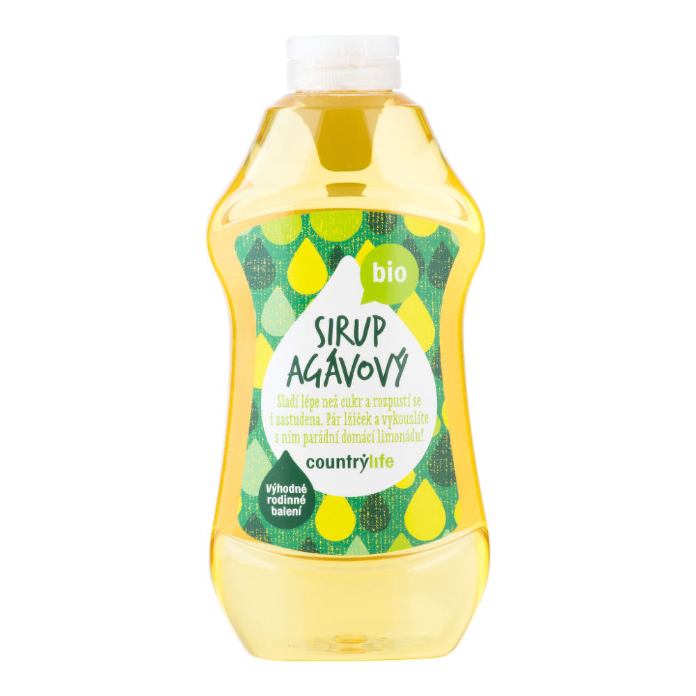Sirup agávový 900 ml BIO COUNTRY LIFE