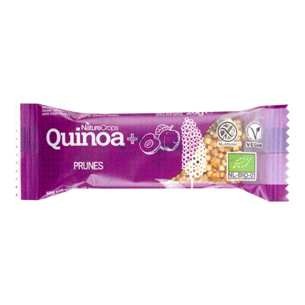Tyčinka quinoová se švestkami bezlepková 25 g BIO