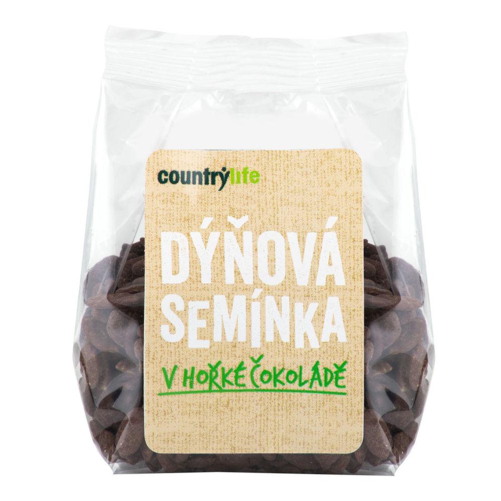 Dýňová semínka v hořké čokoládě 100 g   COUNTRY LIFE