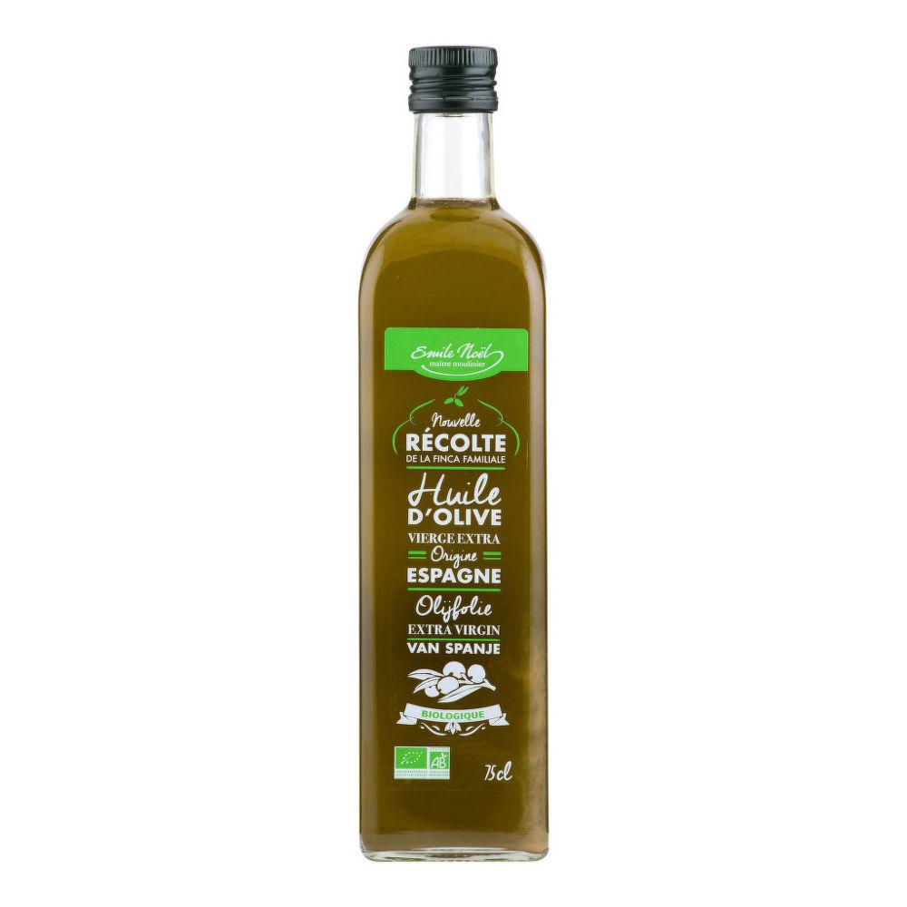 Olej olivový 2017 nefiltrovaný 750 ml BIO   EMILENOËL