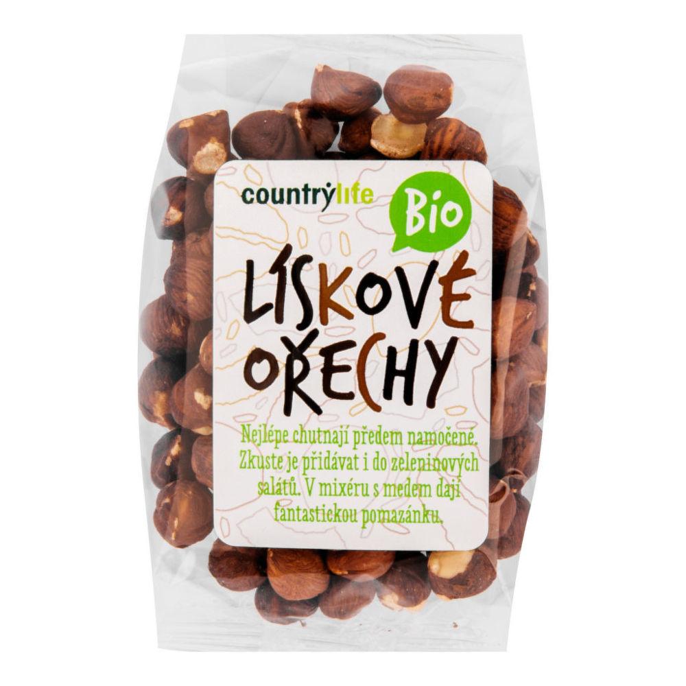 Lískové ořechy 100 g BIO COUNTRY LIFE