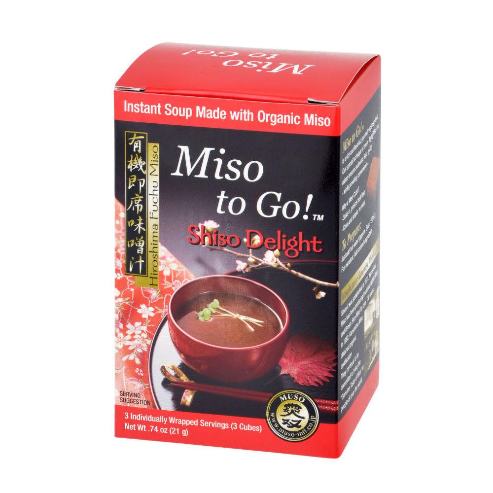 Polévka instantní Miso Shiso Delight (3x7g) 21g BIO   MUSO