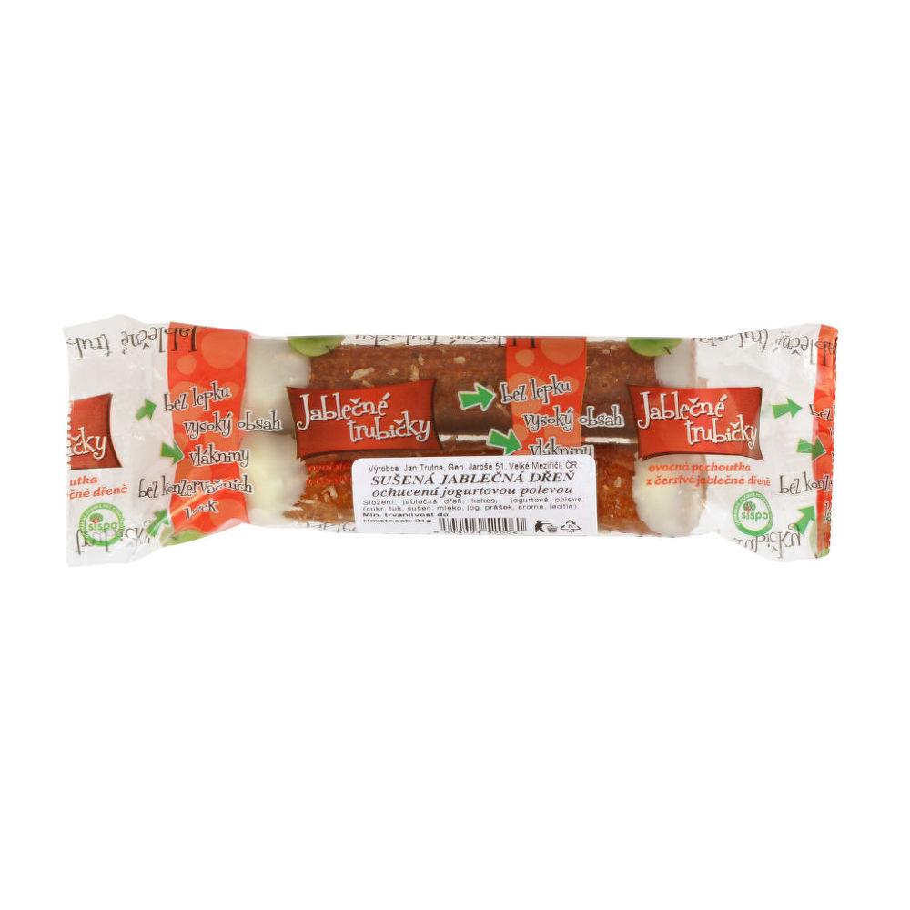 Trubičky jablečné s jogurtem 24 g   B. PRODUKT