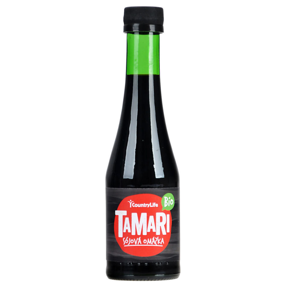 Tamari sójová omáčka 200 ml BIO COUNTRY LIFE
