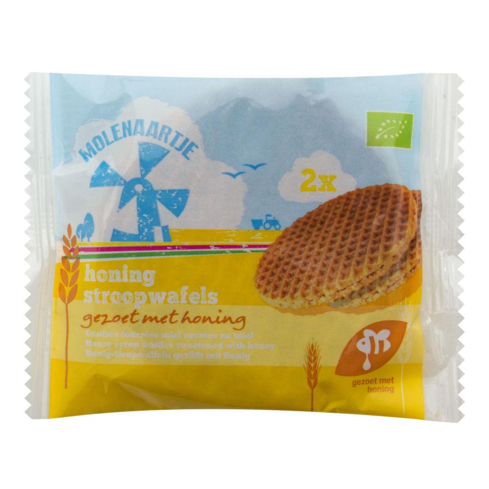 Vafle medové 60 g BIO   MOLENAARTJE