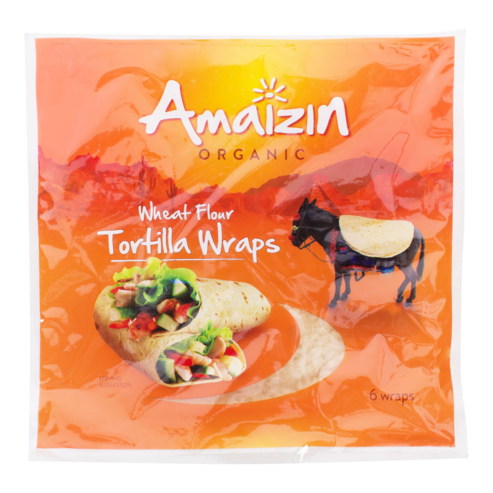 Tortilly 240 g BIO   AMAIZIN